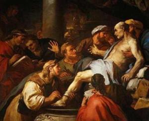Seneca's suicide