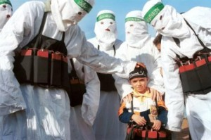 Child suicide terrorist