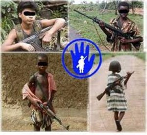 Stop to child soldiers