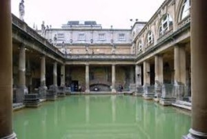 Bath Roman thermal baths