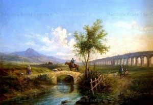 Rome disappeared Antoniano aqueduct