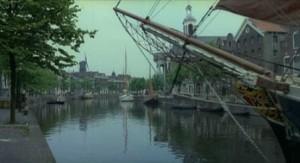 The vampire's boat dcks in Wismar